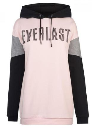 Худи everlast cut and sew oth pink/blk/grey