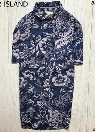 Мужская рубашка river island - в узор