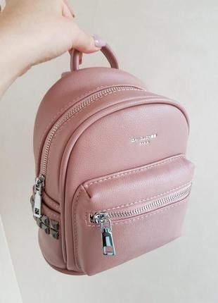 Рюкзак розовый david jones