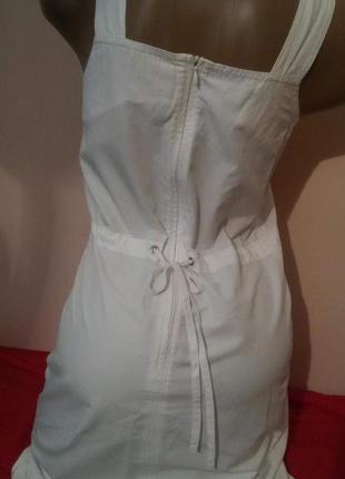 Белоснежный брендовый сарафан baon2 фото