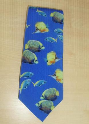 Fabric frontline zurich (italy)  шелковый галстук ручной работы