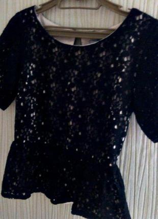 Черная блуза dorothy perkins