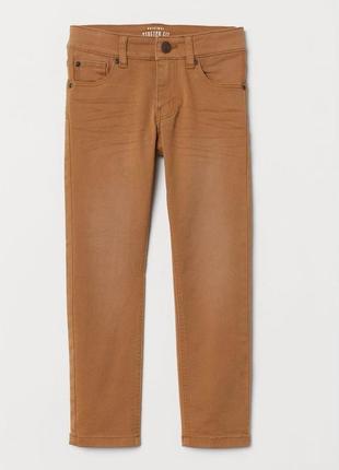 Новые брюки-стрейч slim-fit для мальчика, h&m, 0588927