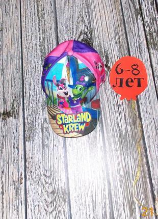 Ферменная кепка для девочки 6-8 лет, 54-55 см