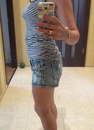 Очень классные джинсовые шорты