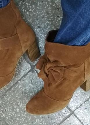 Демисезонные ботинки козаки