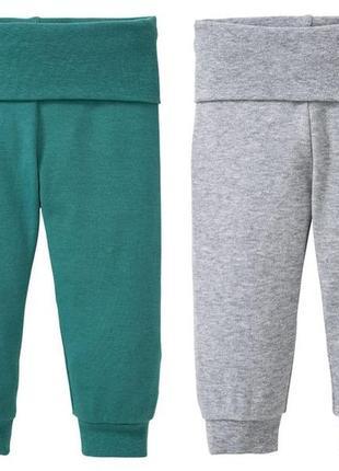 Хлопковые штанишки 74/80 на 6/12 месяцев lupilu германия.