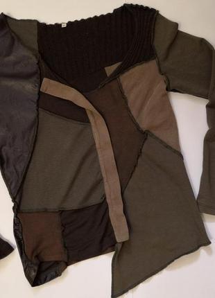 Орегинальная, красивая и нежная кофточка-свитерок, размер м