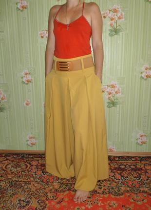 Эффектная юбка-брюки