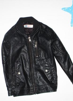 Косуха, курточка для мальчика h&m на 2-3г