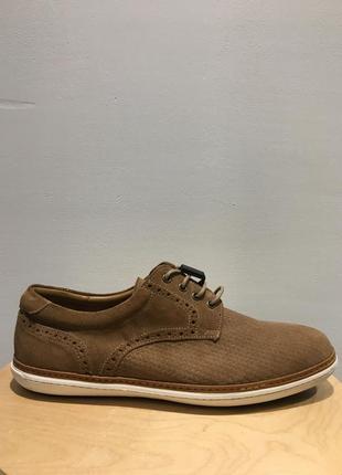 Massimo dutti замшевые туфли
