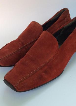Туфли gabor оригинал замшевые