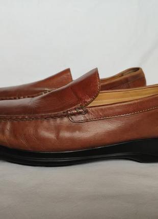 Туфли мокасины cole haan. nike air. размер 45