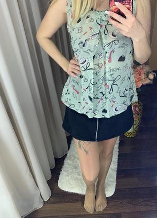 Нежная летняя кофточка блузка