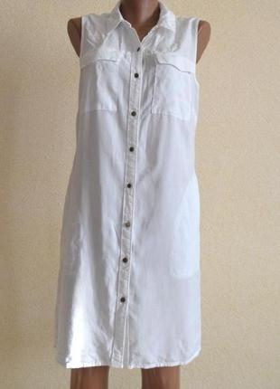 Платье-рубашка с карманами papaya размер 10