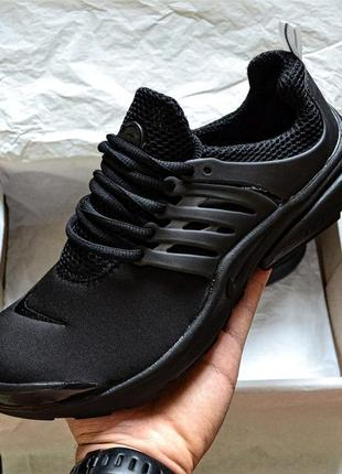 Кроссовки nike air presto all black