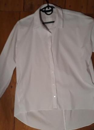 Фірмова білосніжна сорочка