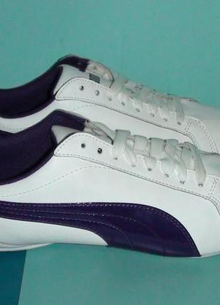 Puma - шкіряні кросівки.