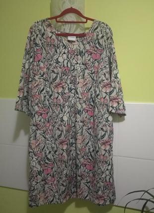 Платье цветочный принт junarose