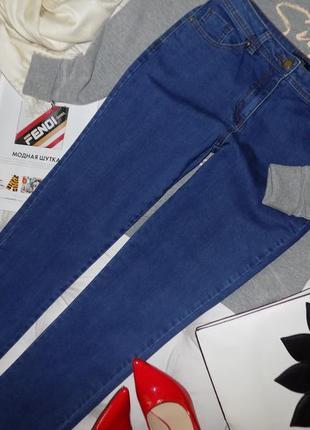 12 s - ровного кроя джинсы