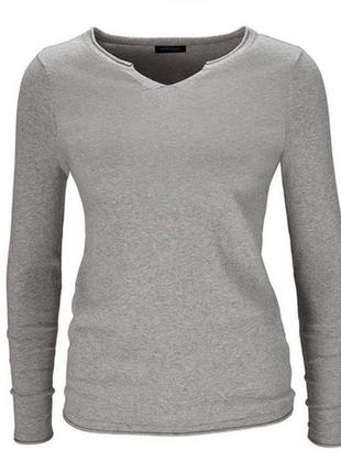 Базовая вещь демисезонно-зимнего гардероба - хлопковый свитерок от tchibo - р. 50-52 укр.2