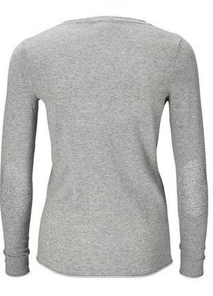 Базовая вещь демисезонно-зимнего гардероба - хлопковый свитерок от tchibo - р. 50-52 укр.4