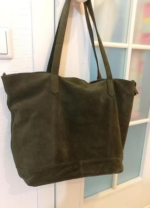 a67c948e2415 Замшевые сумки шопперы 2019 - купить недорого вещи в интернет ...