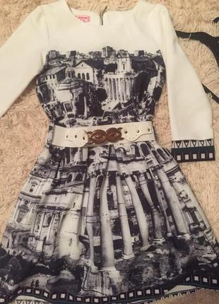 Платье zara kids 10-12 лет