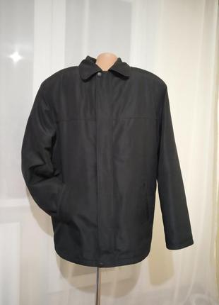 Мужская куртка  2 в 1 демисезонная l xl зимняя весенняя весна курточка