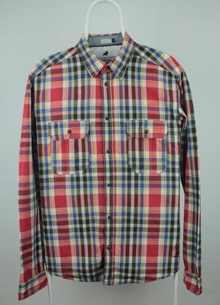 Крутая стильная качественная рубашка jack&jones