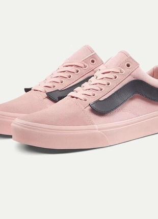 Женские кеды purlicue x vans old skool pink