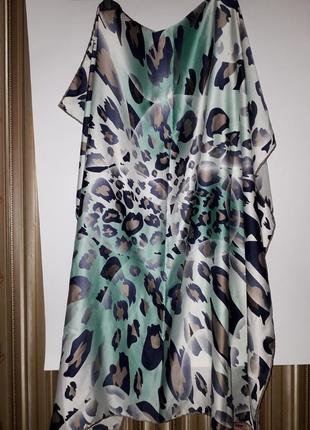 Оригинальный итальянский  шелковый платок шов роуль от berussa
