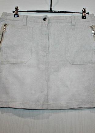 Натуральная юбка из чистого льна vroom& dresmann