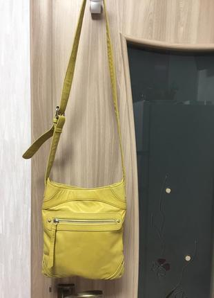Кожаная сумка через плече, кроссбоди debenhams collection