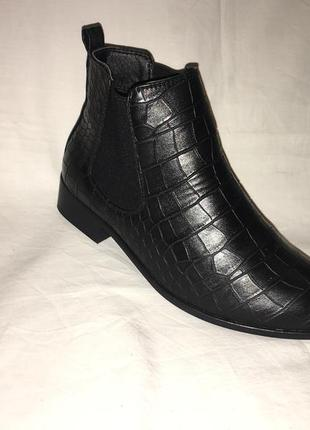 Ботинки *jenny fairy* кожа р.37 ( 24.00 см)