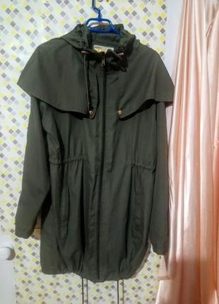 Стильная парка ,куртка denim go на размер s-xl