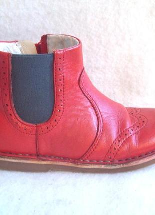 Ботинки челси кожа, стелька 19,7 см.