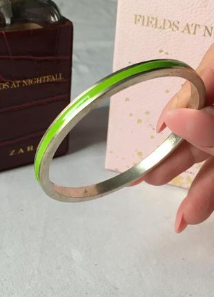 Стерлинговое 925 серебро с гравировкой браслет с эмалью 1+1=3 🎁