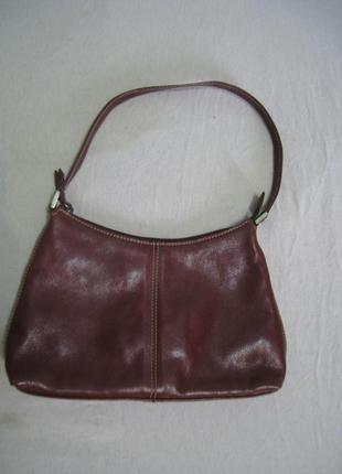 Кожаная сумка marks & spencer, англия, оригинал!!!