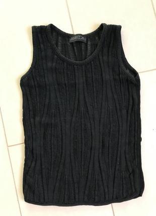 Майка топ блуза фирменная модная стильная дорогой бренд marc cain размер м