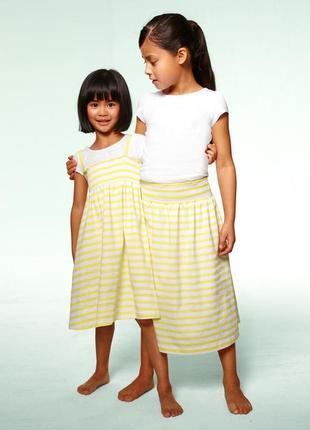 Платье юбка tchibo тсм рост 122-128