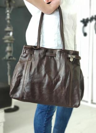 L.credi 100% оригинальная немецкая кожаная сумка.2
