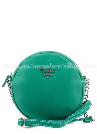 Клатч, сумка через плечо david jones 5969-2 зеленый