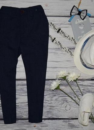 4 - 5 лет 110 см фирменные очень крутые натуральные брюки модникам классика next некст