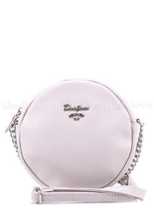 Клатч, сумка через плечо david jones 5969-2 светло-серый