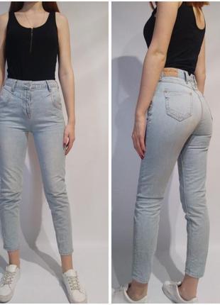 Винтажные джинсы с высокой посадкой мом river island