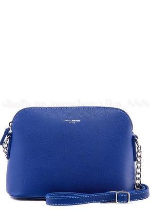Клатч, сумка через плечо david jones 5007 синий