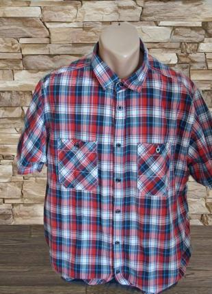 25f767541b4 Красные мужские рубашки в клетку 2019 - купить недорого мужские вещи ...