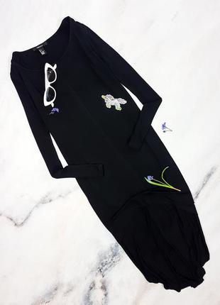 Платье с удлиненной спинкой forever21