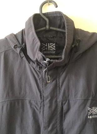Ветровка, куртка мужская karrimor, водонепроницаемая мембрана, l